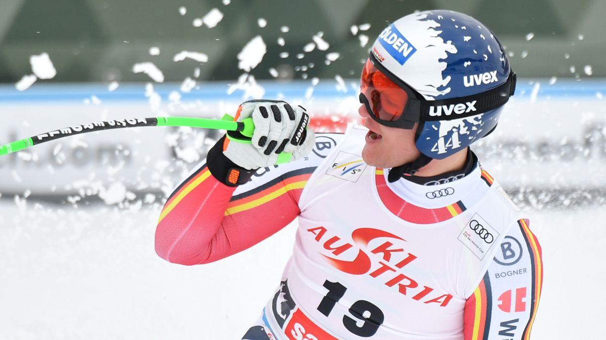 """Thomas Dreßen wird nach einer Saison der Rekorde """"Skisportler des Jahres"""""""