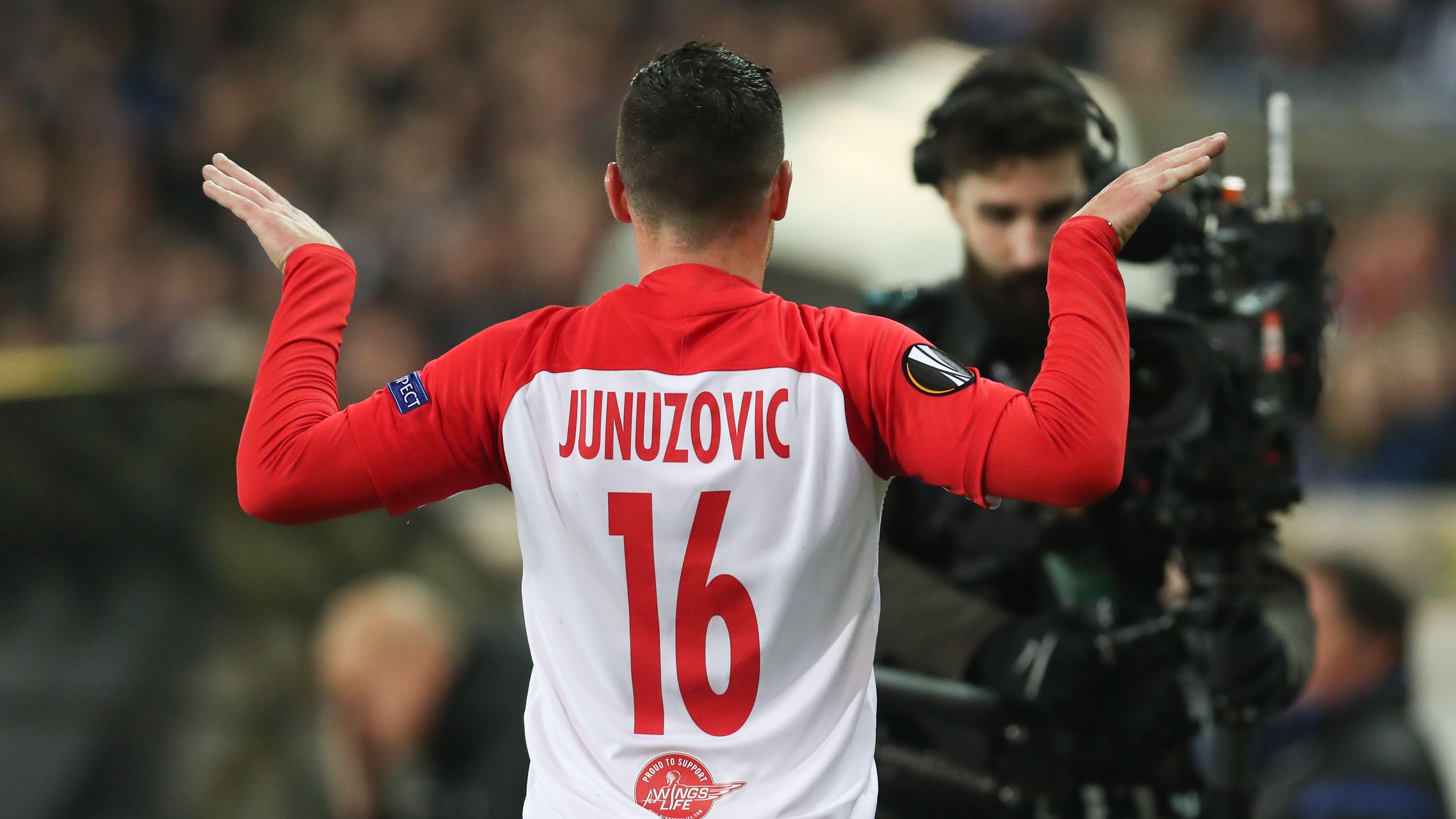 Zlatko Junuzovic von RB Salzburg