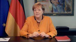 Die Corona-Infektionszahlen steigen weiter deutlich. Bundeskanzlerin Angela Merkel richtet daher erneut einen Appell an die Bevölkerung. | Bild:BR