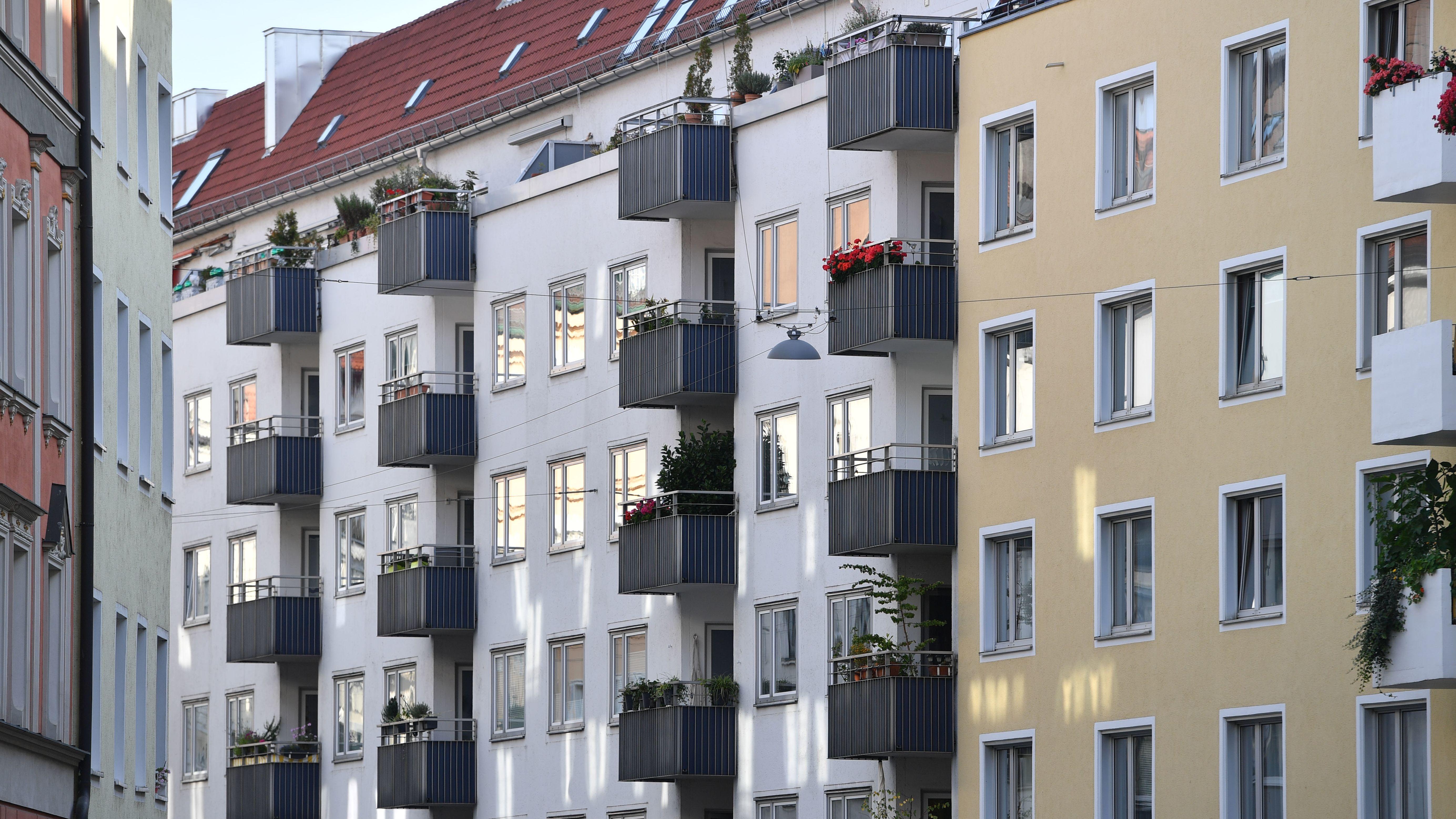 Mietwohnungen im Stadtteil Lehel in München.
