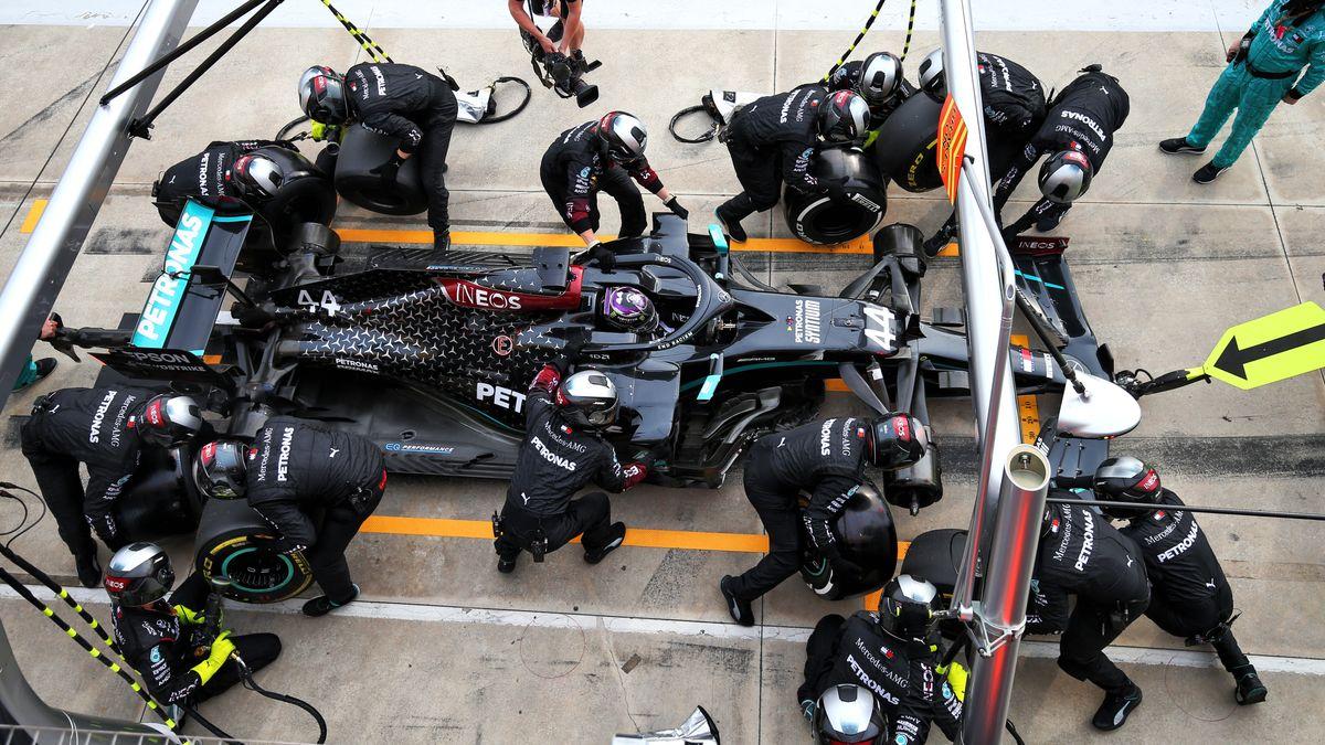 Lewis Hamilton vom Team Mercedes