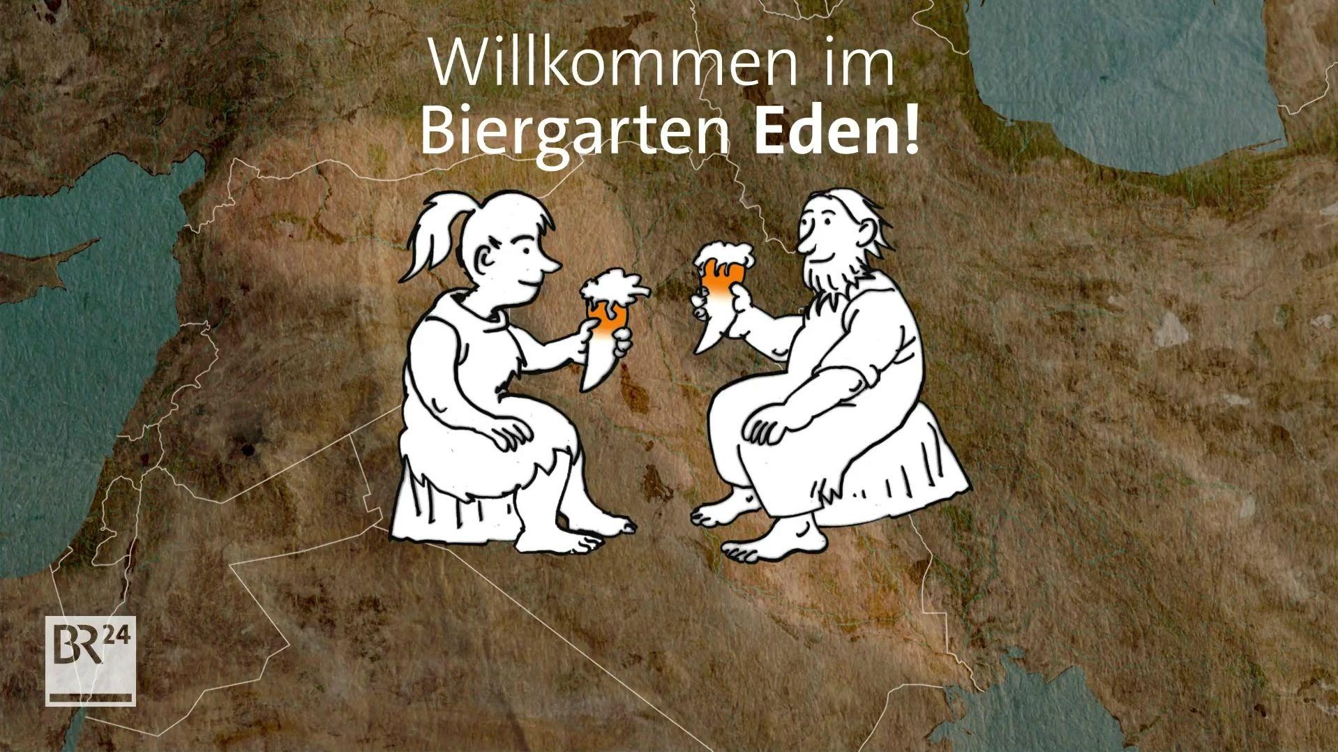 Grafik Biergarten Eden