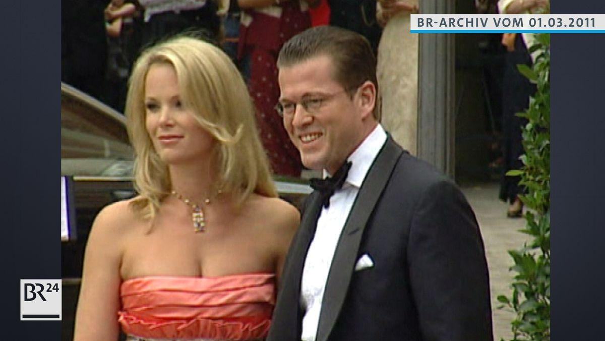 Karl-Theodor zu Guttenberg mit Frau Stephanie