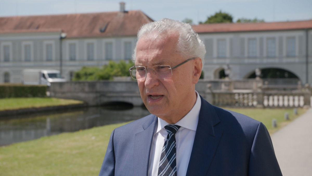 Bayerns Innenminister Herrmann