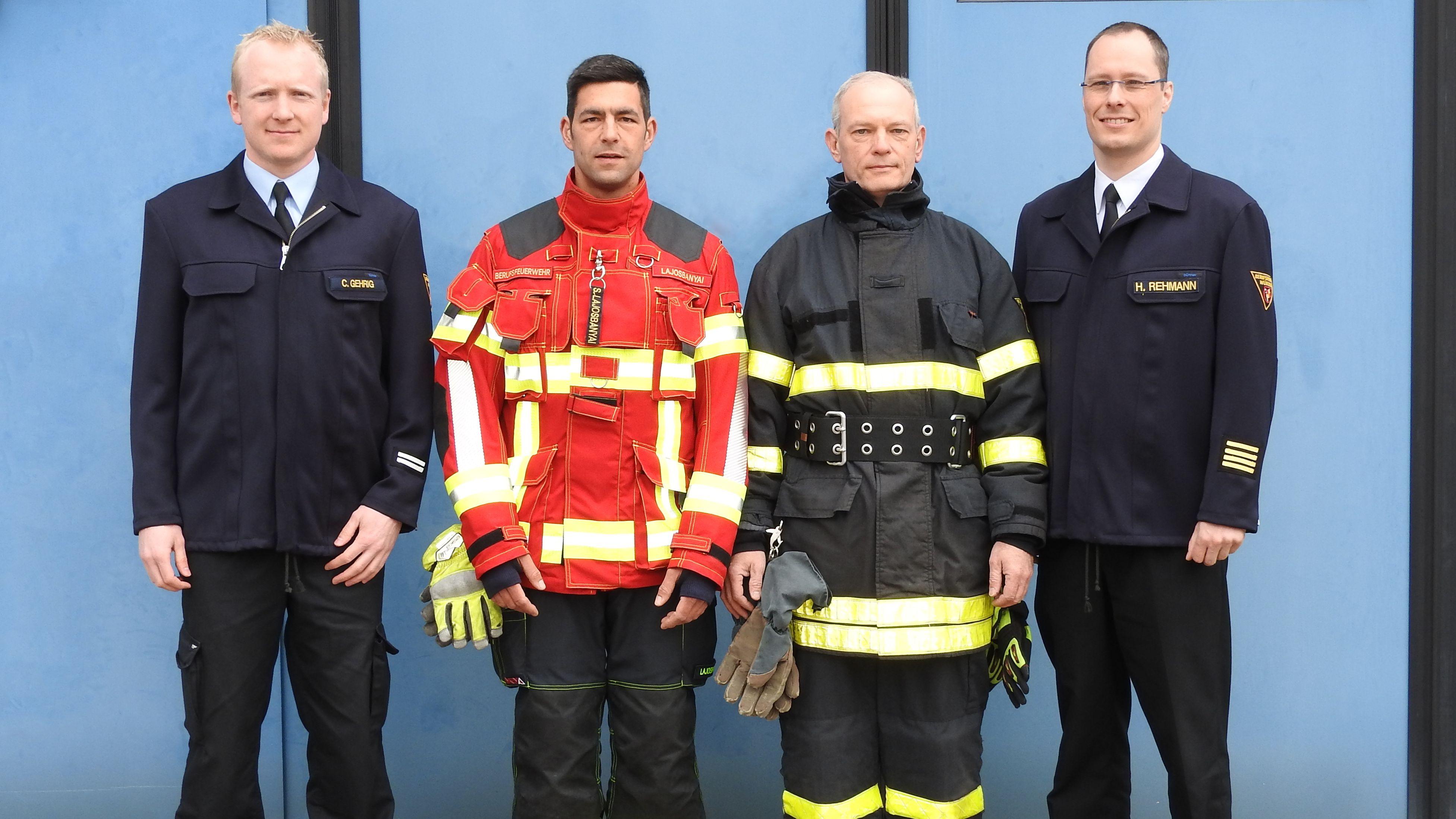 Neue Einsatzkleidung für Würzburger Feuerwehr