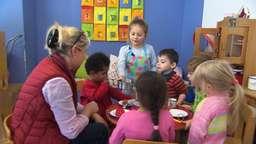 Kinder im Kindergarten | Bild:BR
