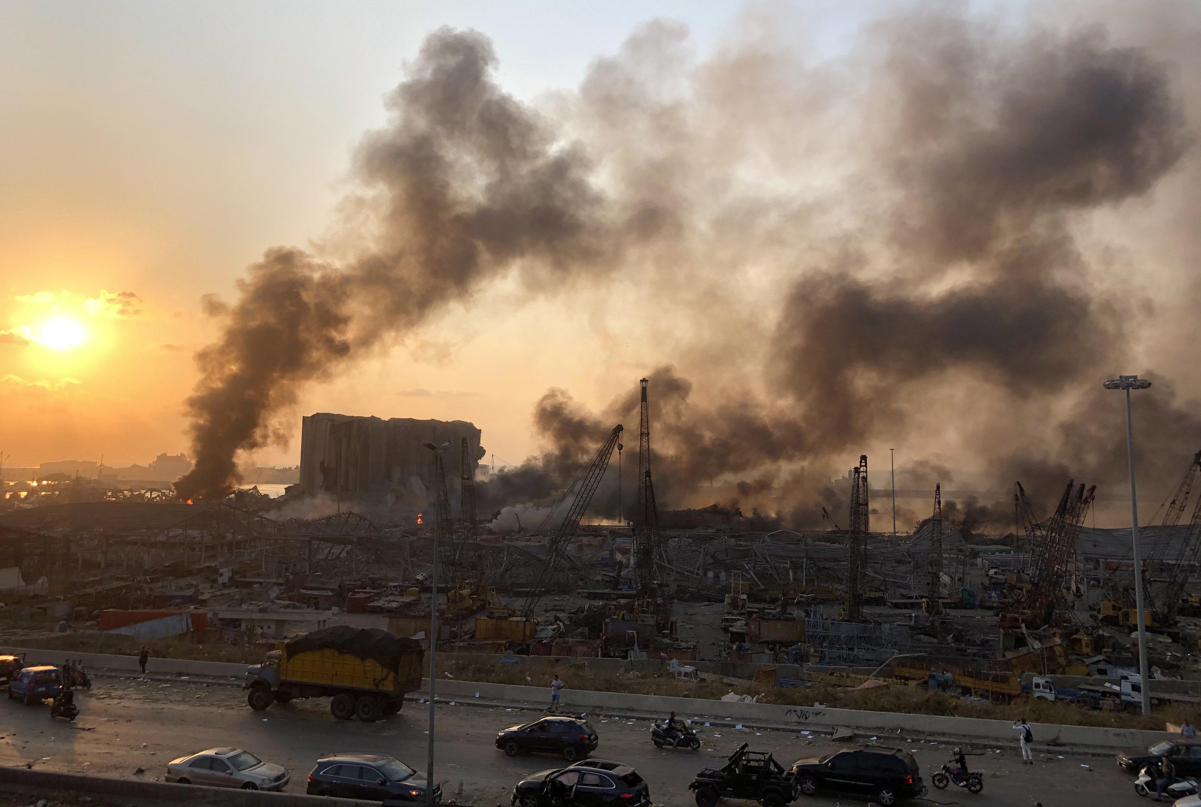 Nach Explosionskatastrophe: Trauer und Wut in Beirut