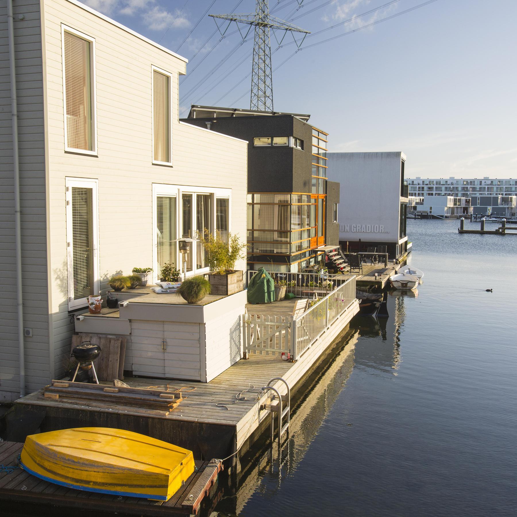Schwimmende Architektur - Bauen auf Wasser