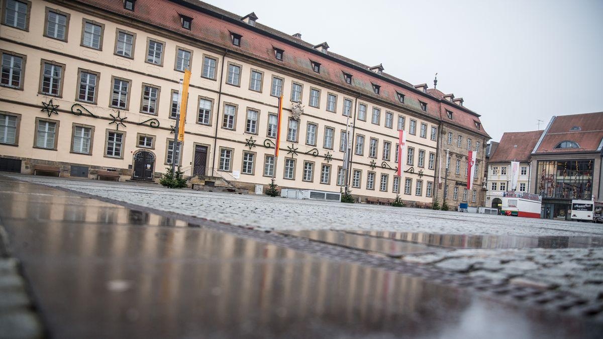 Außenansicht des Bamberger Rathaus