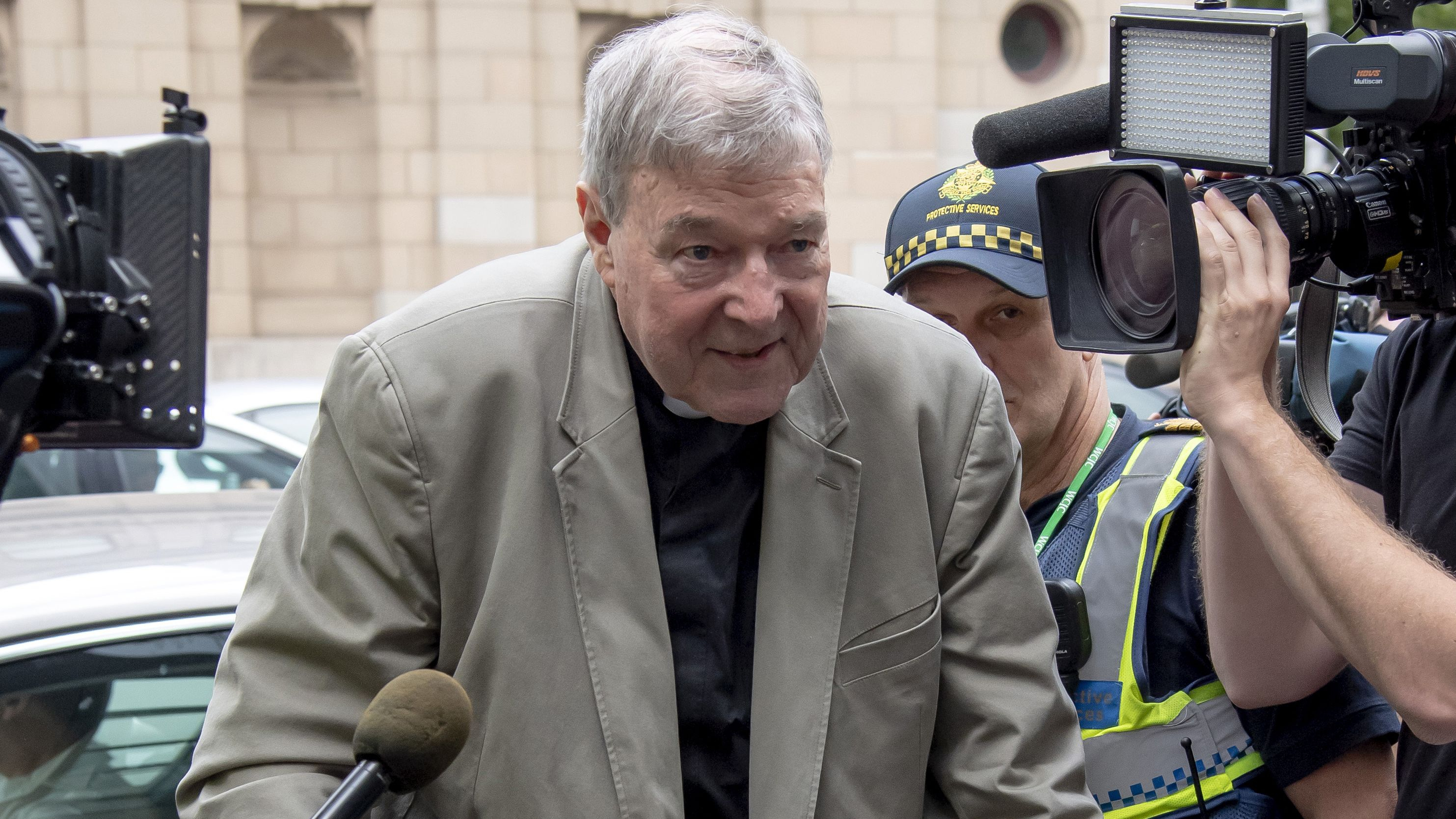 Kardinal George Pell am 26.2.2019 in Melbourne
