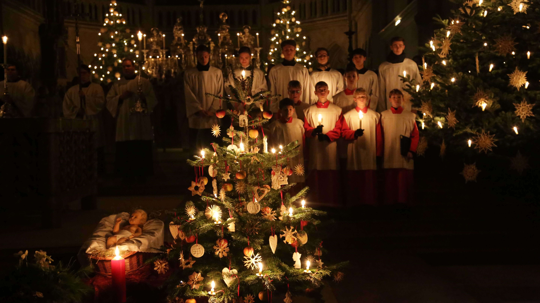 Die Regensburger Domspatzen bei der Christmette