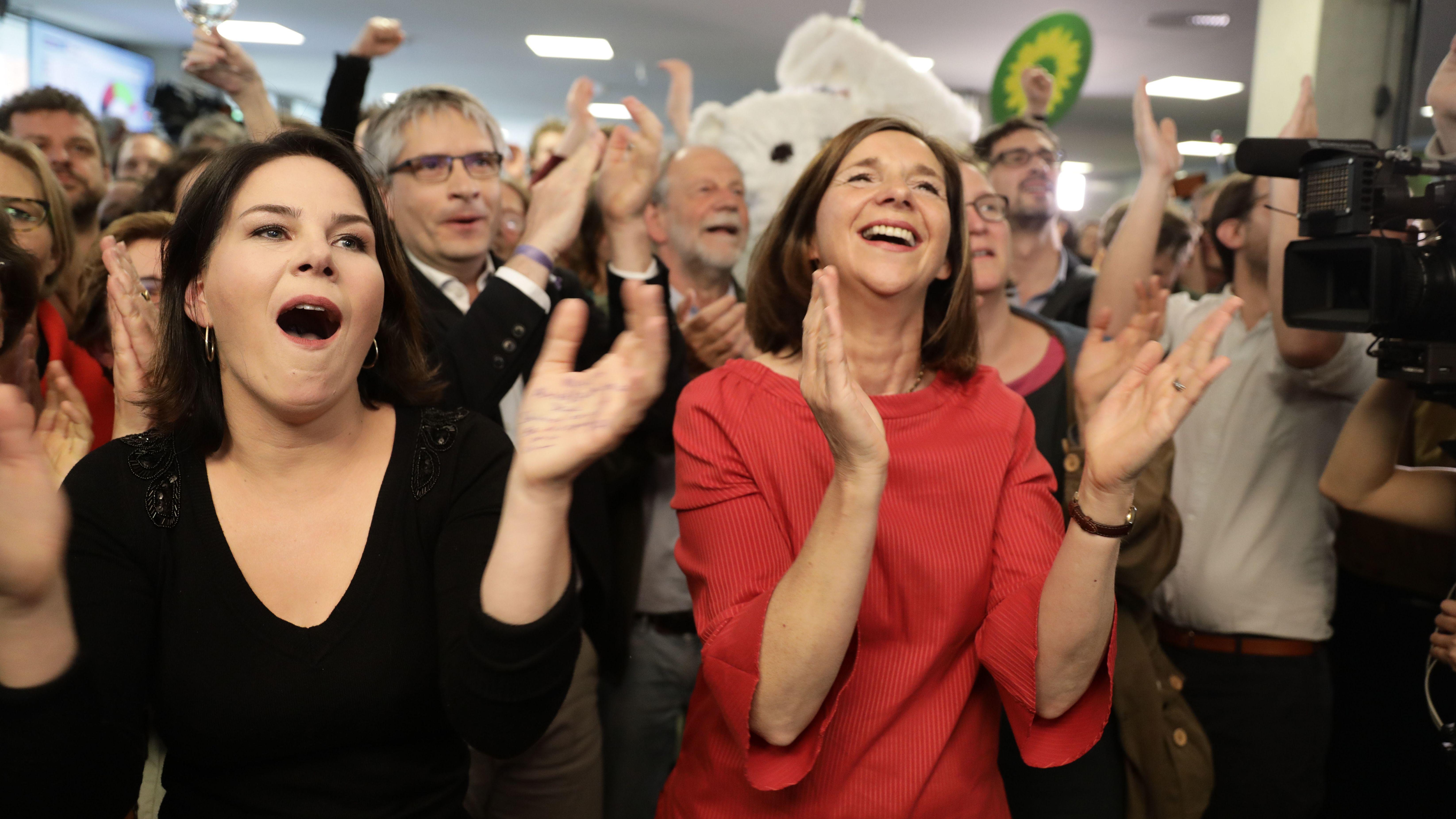 Europawahl: Grüne auf Platz zwei, Verluste für Union und SPD