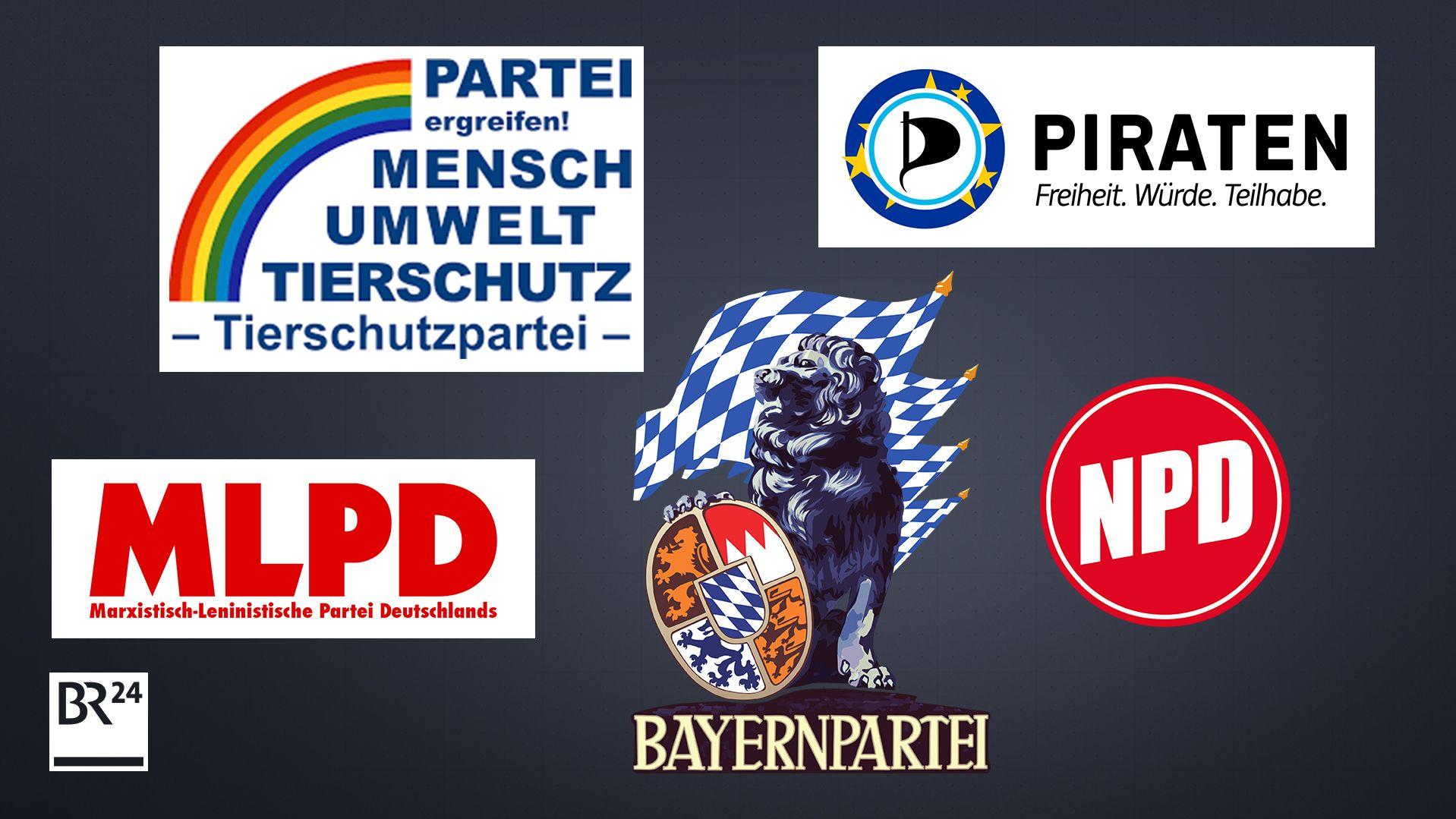Parteien zur Europawahl