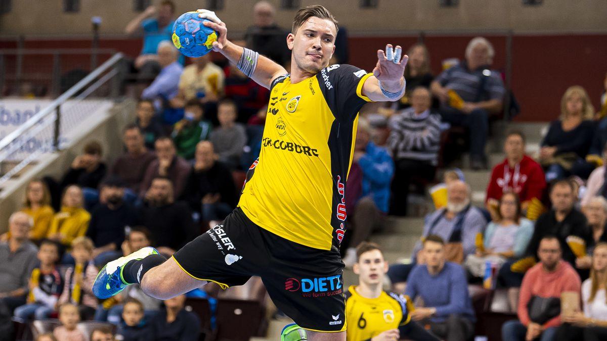 Springt mit dem HSC Coburg in die erste Liga: Marcel Timm