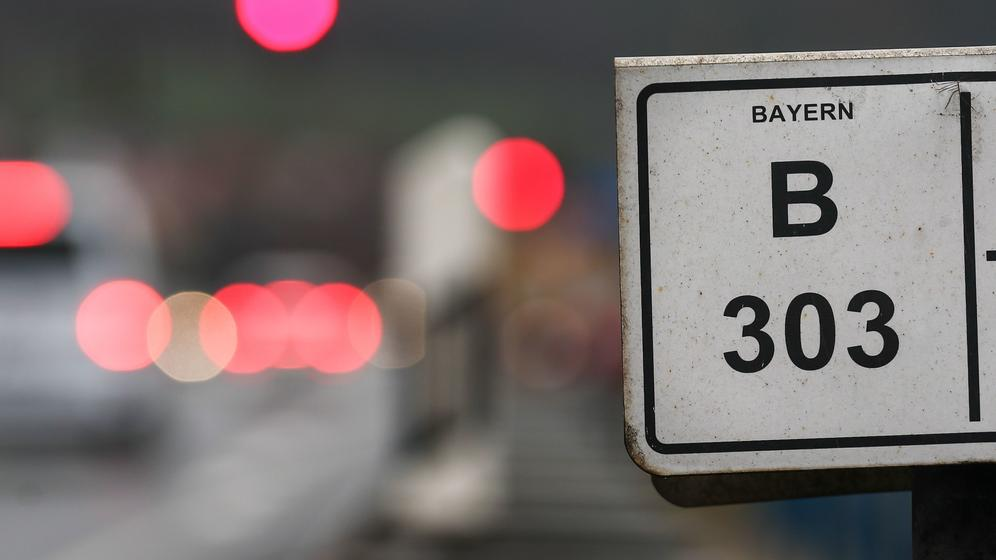 Bundesstraße 303 in Bayern | Bild:pa / dpa / David Ebener