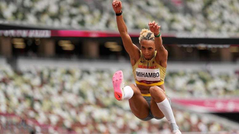 Malaika Mihambo   Bild:dpa-Bildfunk/David J. Phillip