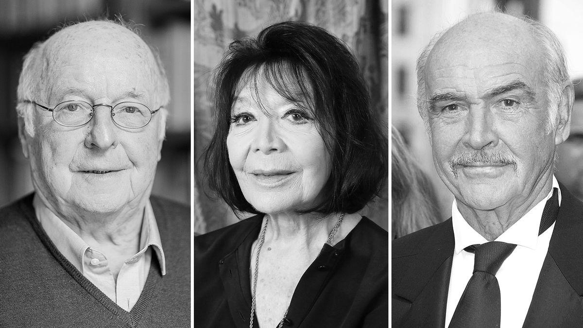 Drei Tote des Jahres 2020: der CDU-Politiker Norbert Blüm, die Chansonsäüngerin Juliette Greco und Schauspieler Sean Connery