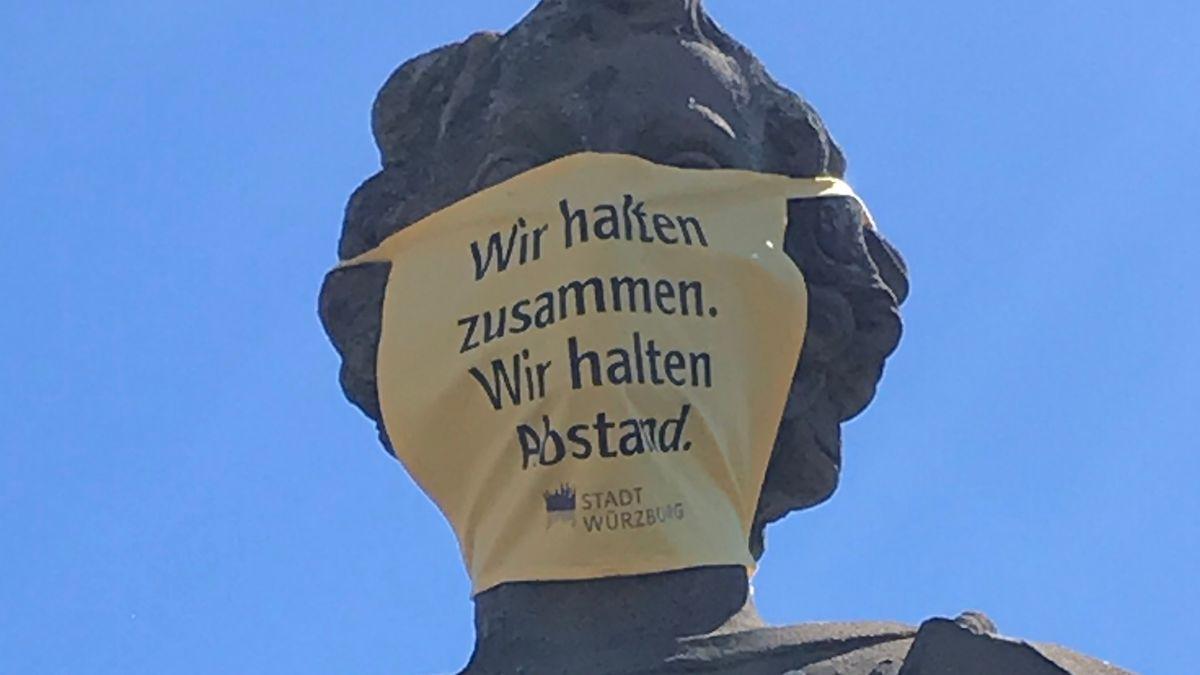 Appell der Stadt Würzburg an die Bevölkerung