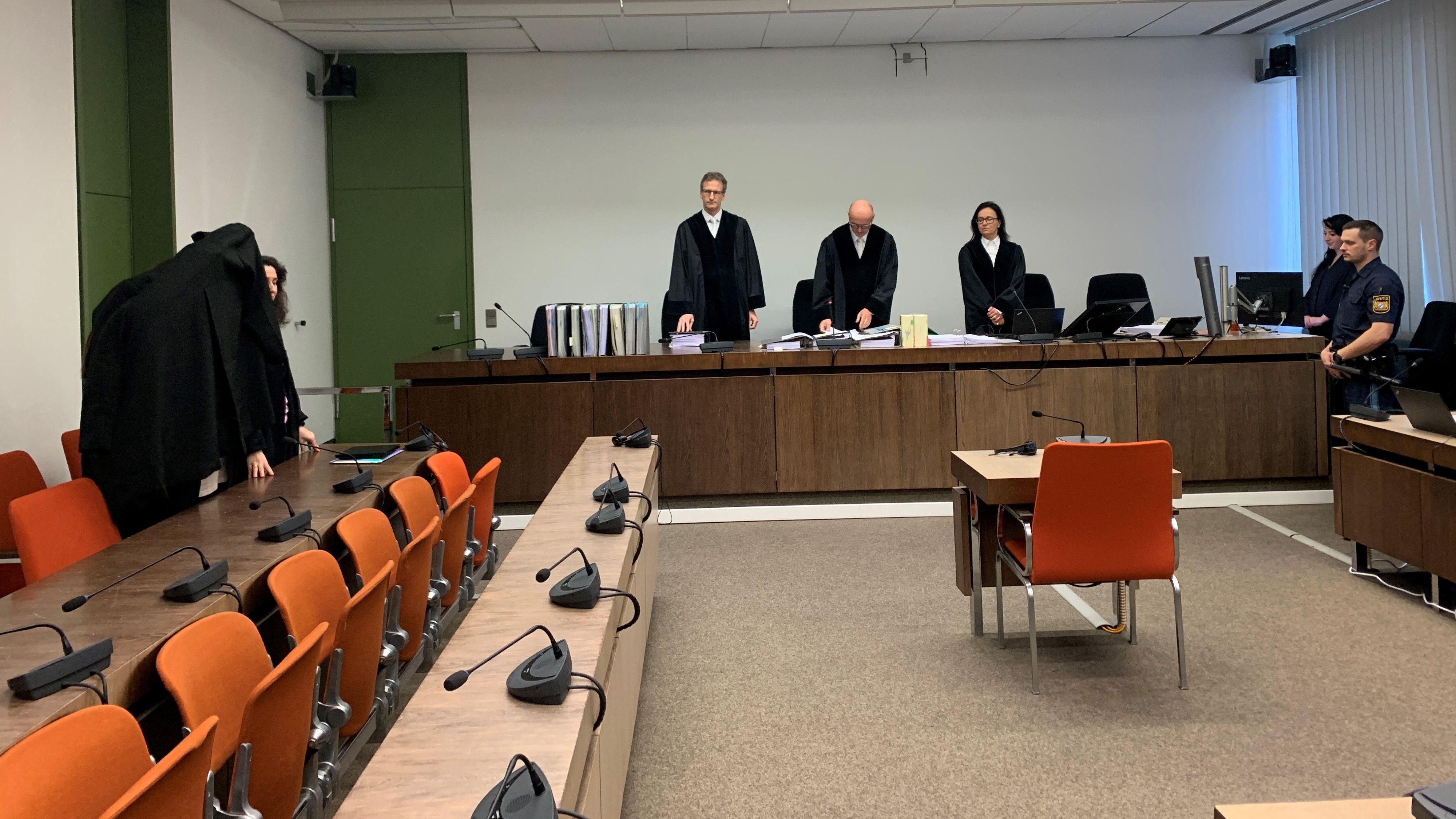 Prozess vor dem OLG in München