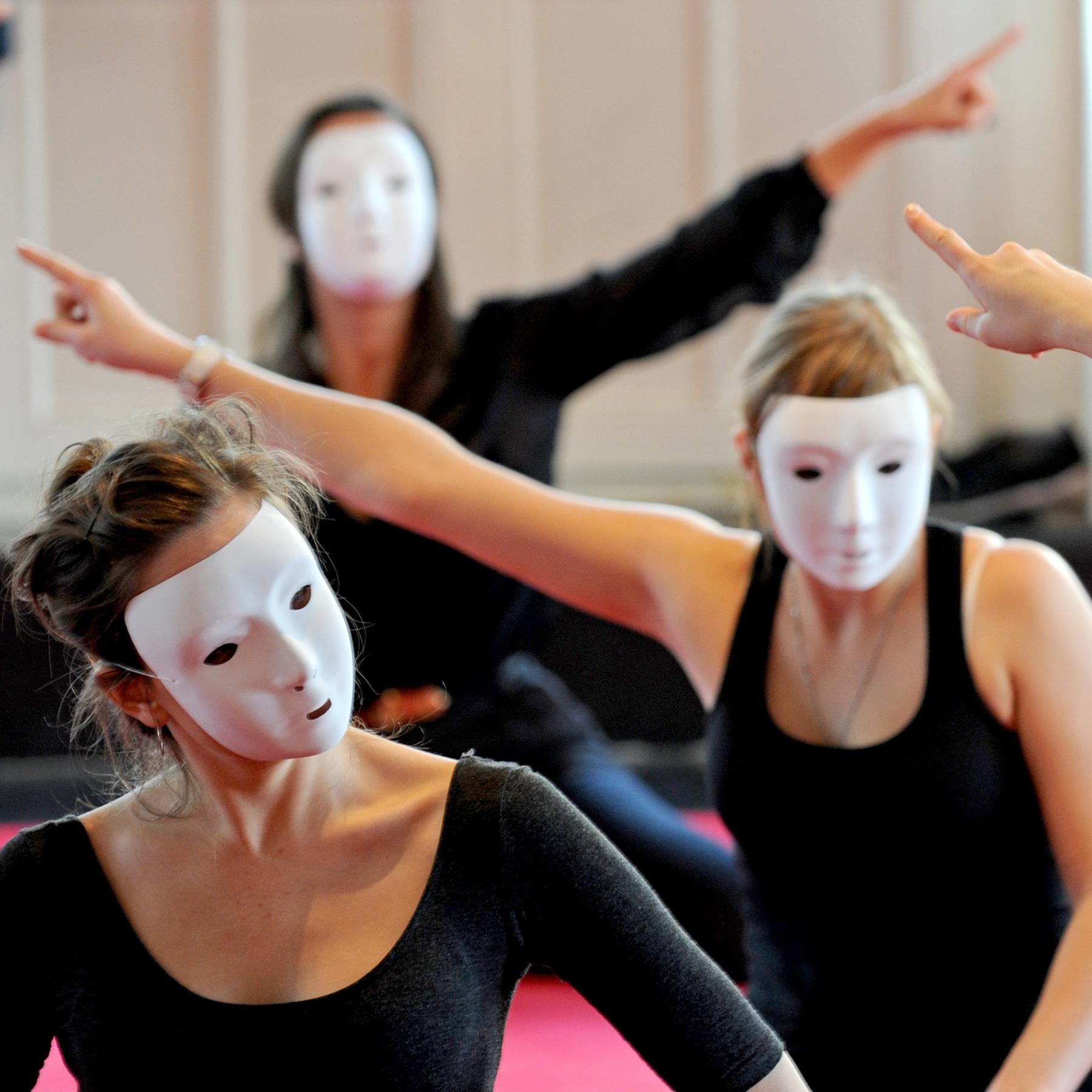 Commedia dell'Arte - Vom Spiel mit den Masken