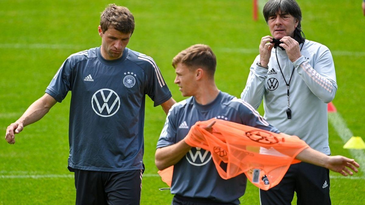 Fußball EM - Trainingslager deutsche Fußball-Nationalmannschaft