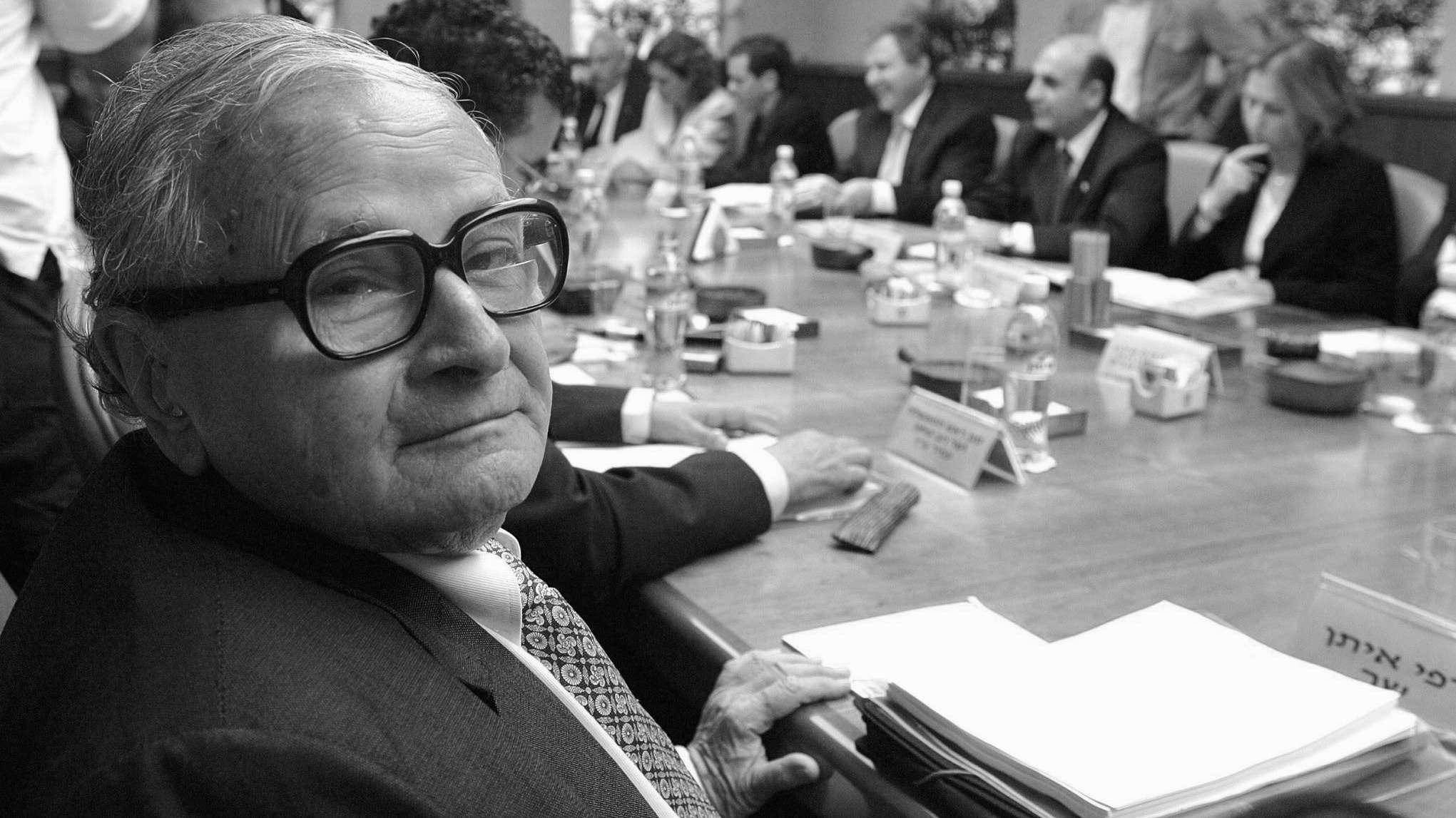 Rafi Eitan (✝) leitete 1960 den Einsatz, bei dem Adolf Eichmann verhaftet wurde.