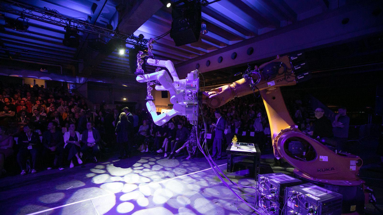 Eindrücke von der Gala der Ars Electronica