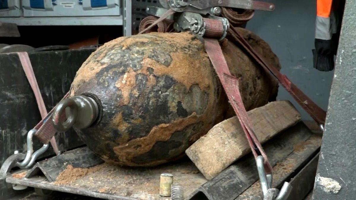 Entschärfte Fliegerbombe in Nürnberg (Symbolbild).
