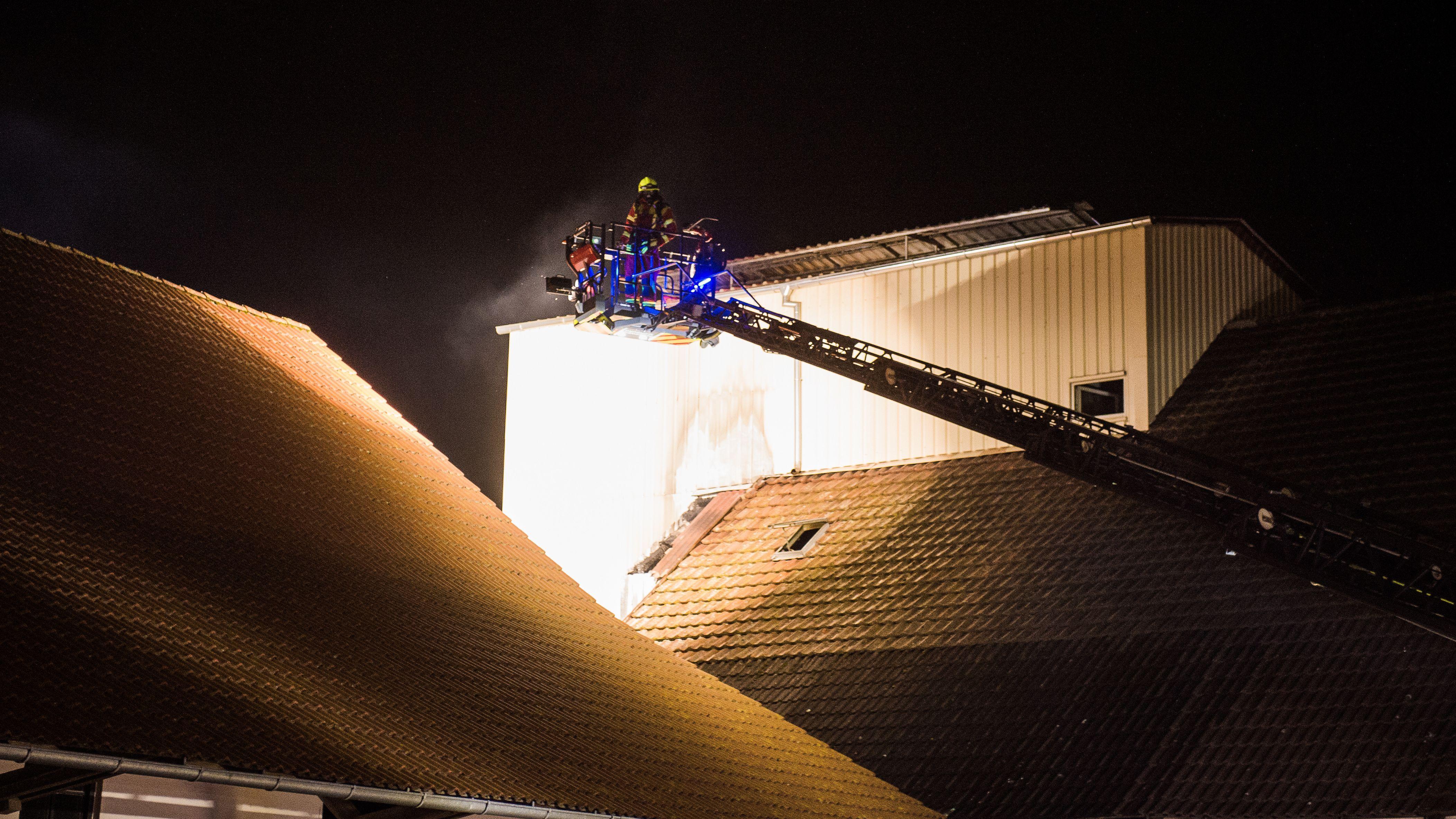 Mehrere Feuerwehren mussten im Landkreis Kelheim ausrücken