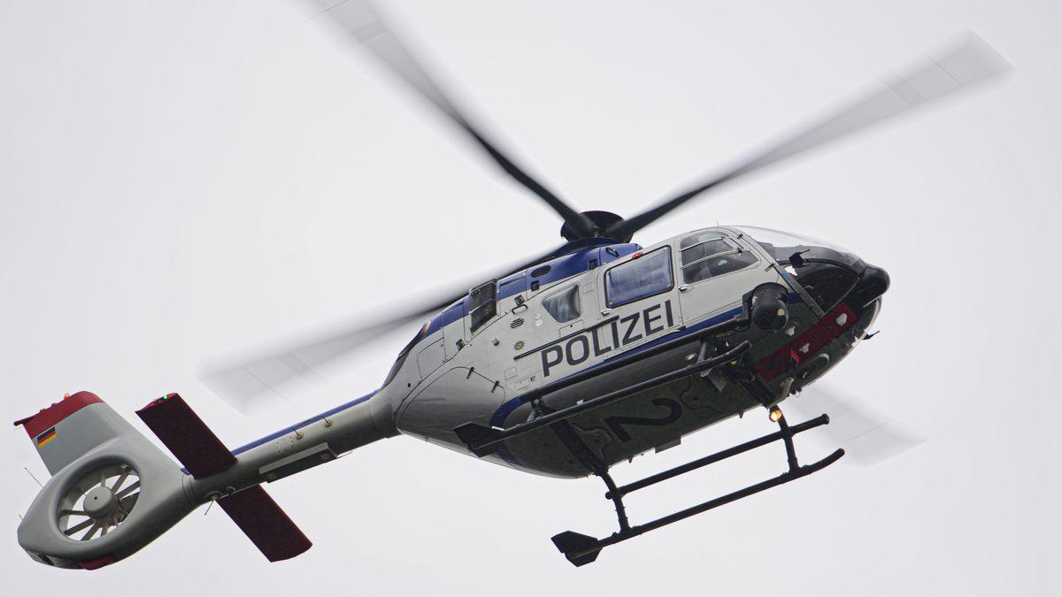 Polizeihubschrauber - Symbolbild