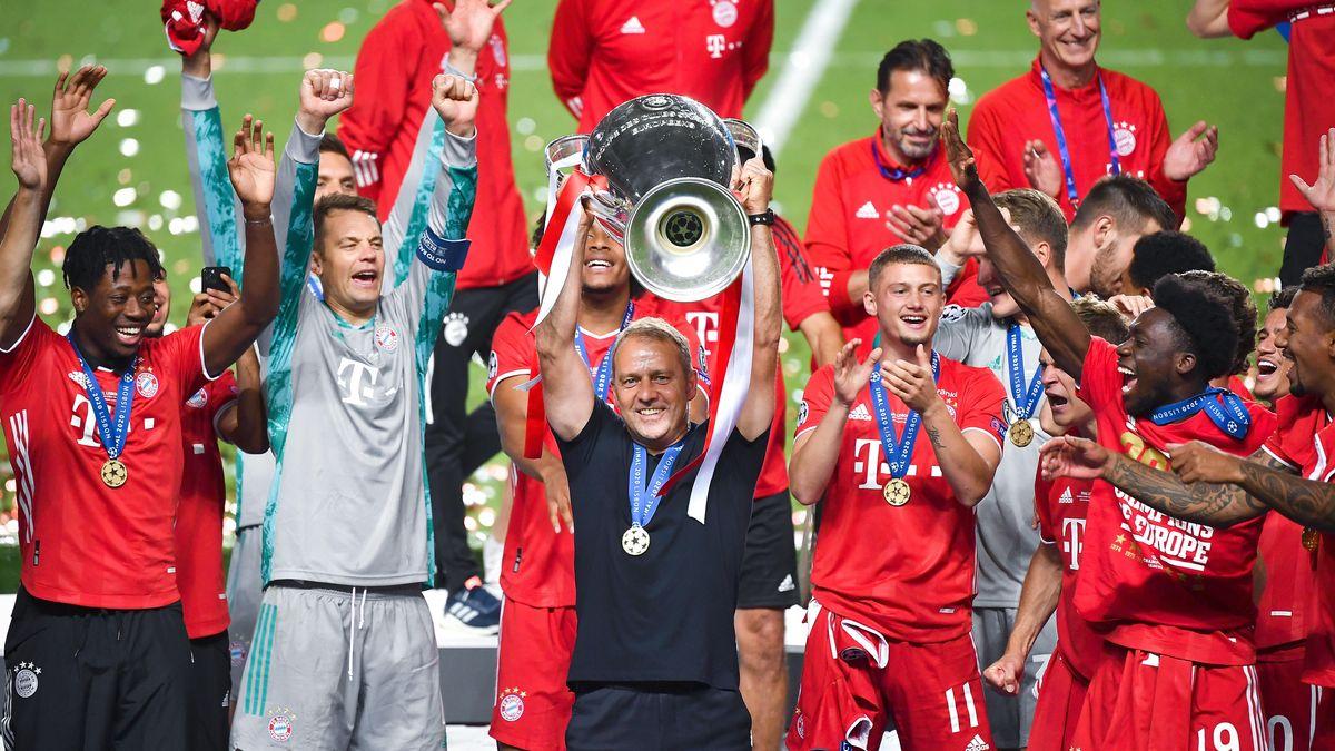 Der FC Bayern München gewinnt das Champions League-Finale in Lissabon. Hansi Flick holt in seiner ersten Saison als Bayern-Coach das Triple.