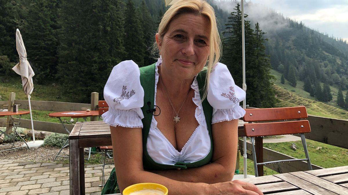 Monika Becht, Hüttenwirtin auf der Priener Hütte