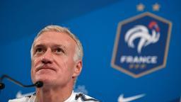 Frankreichs Bundestrainer Didier Deschamps spricht | Bild:dpa-Bildfunk/Ina Fassbender