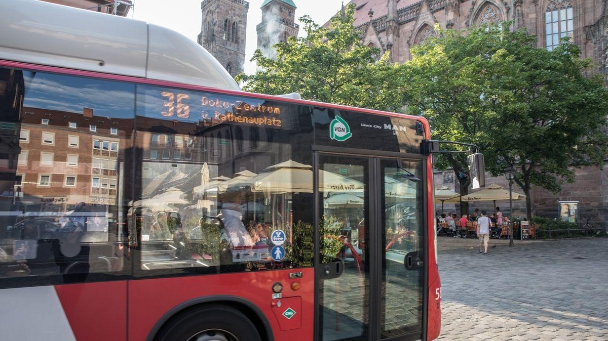 VGN-Bus in Nürnberg