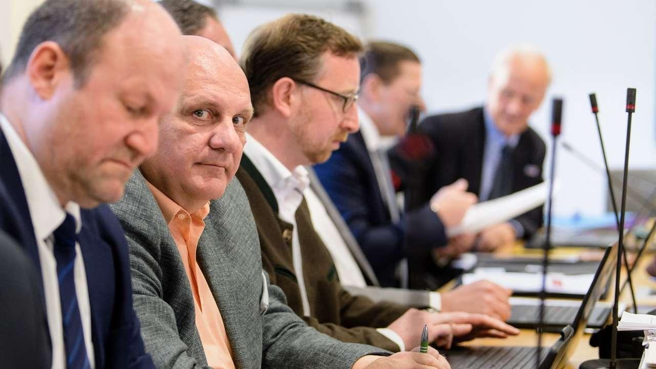 Fraktionssitzung der AfD im Landtag