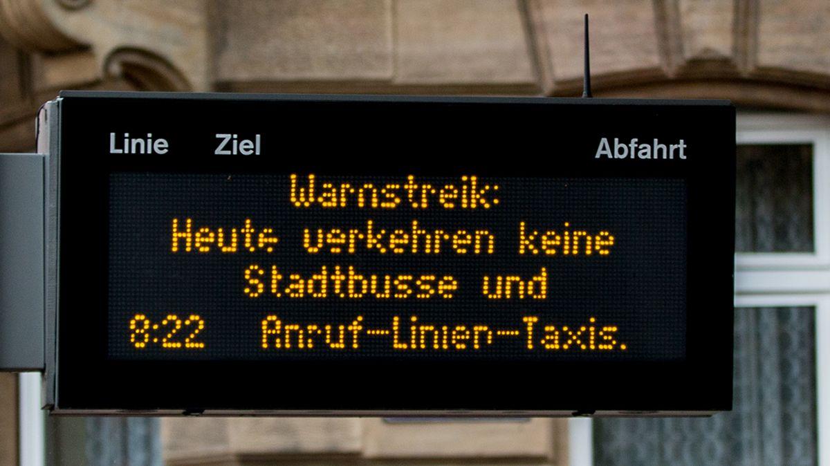 Symbolbild: Busstreik
