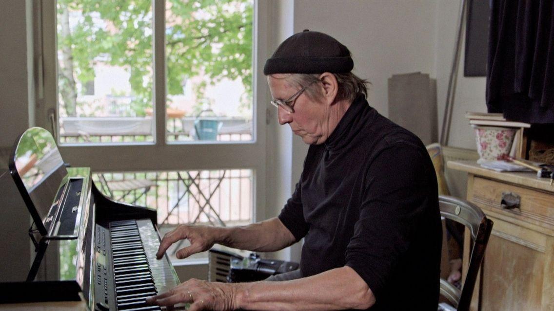 Andreas Rebers am Klavier