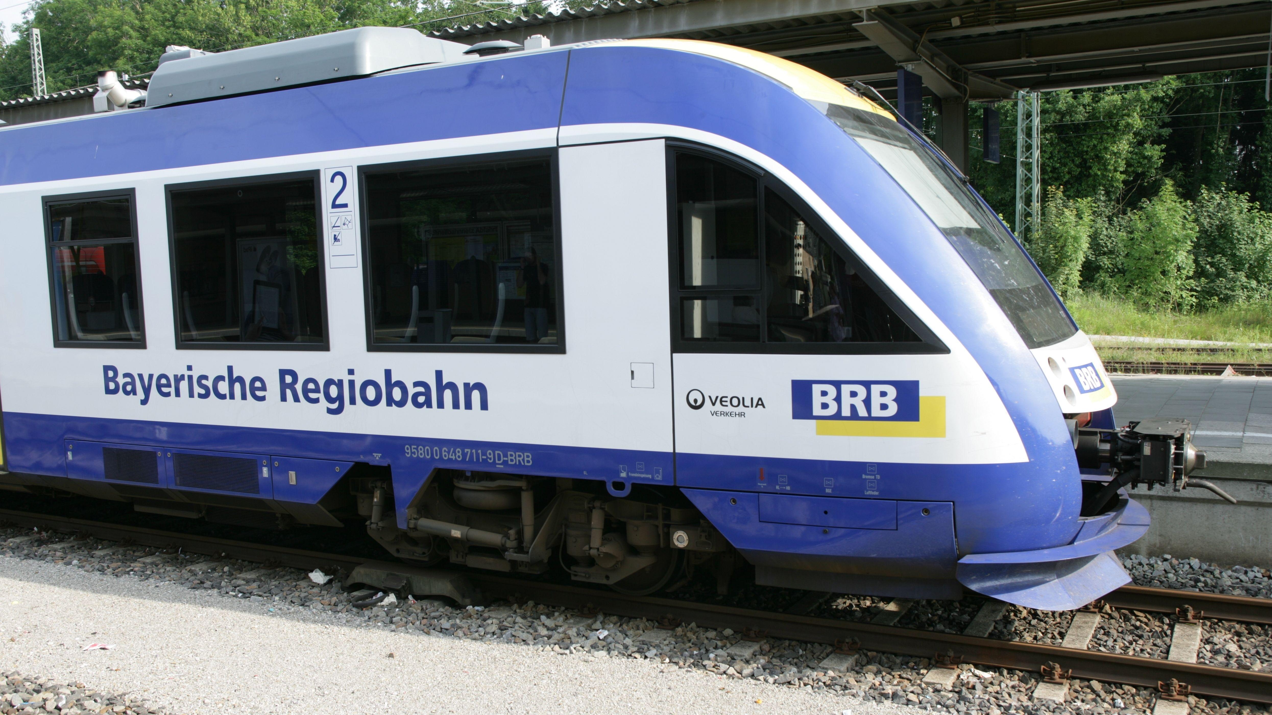 Bayerischen Regiobahn (BRB): Derzeit werden dringend benötigte Lokführer ausgebildet