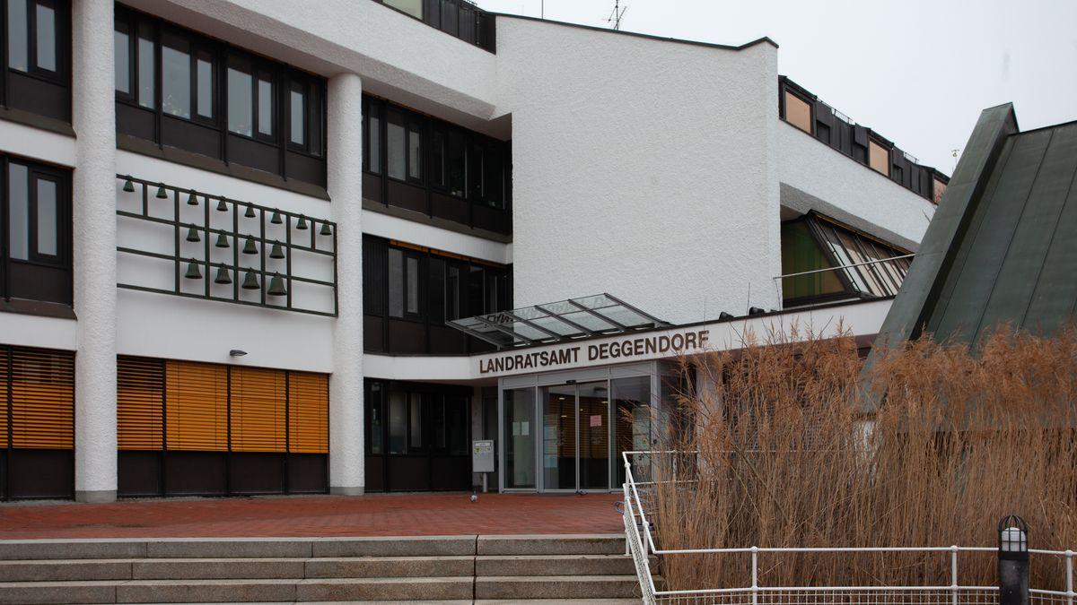 Das Landratsamt in Deggendorf