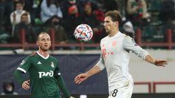 Spielszene Lokomotive Moskau - Bayern München   Bild:dpa-Bildfunk/Maxim Shipenkov