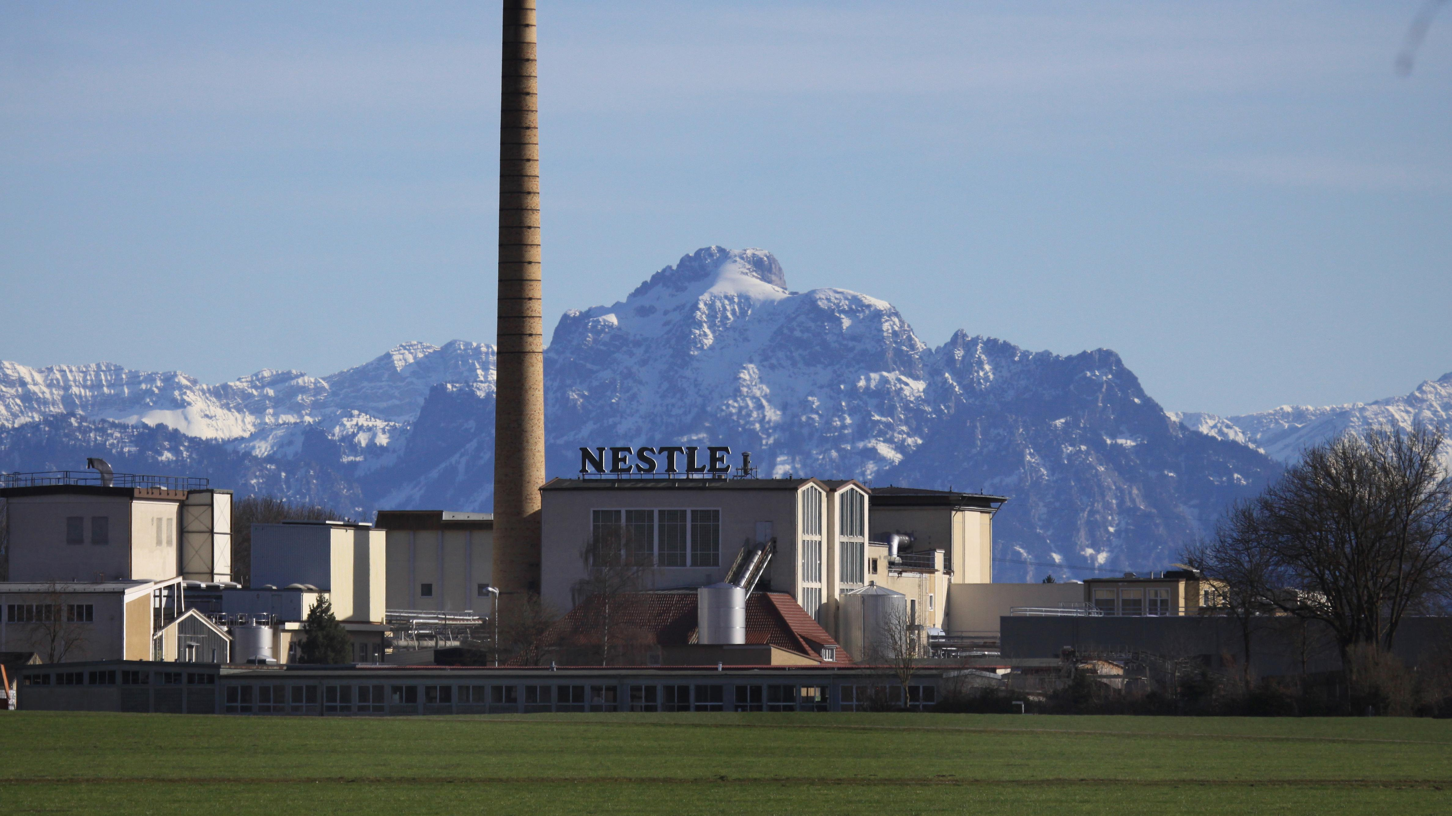 Nestlé-Werk in Biessenhofen
