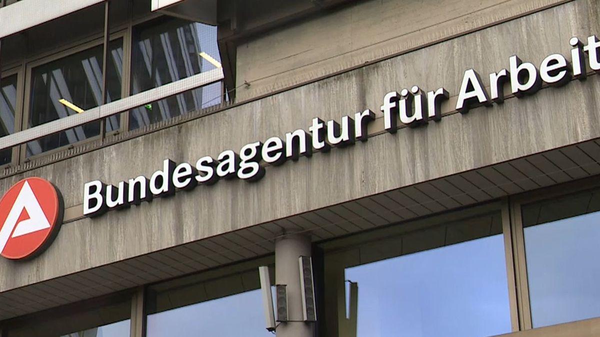Hausfassade der Bundesagentur für Arbeit.