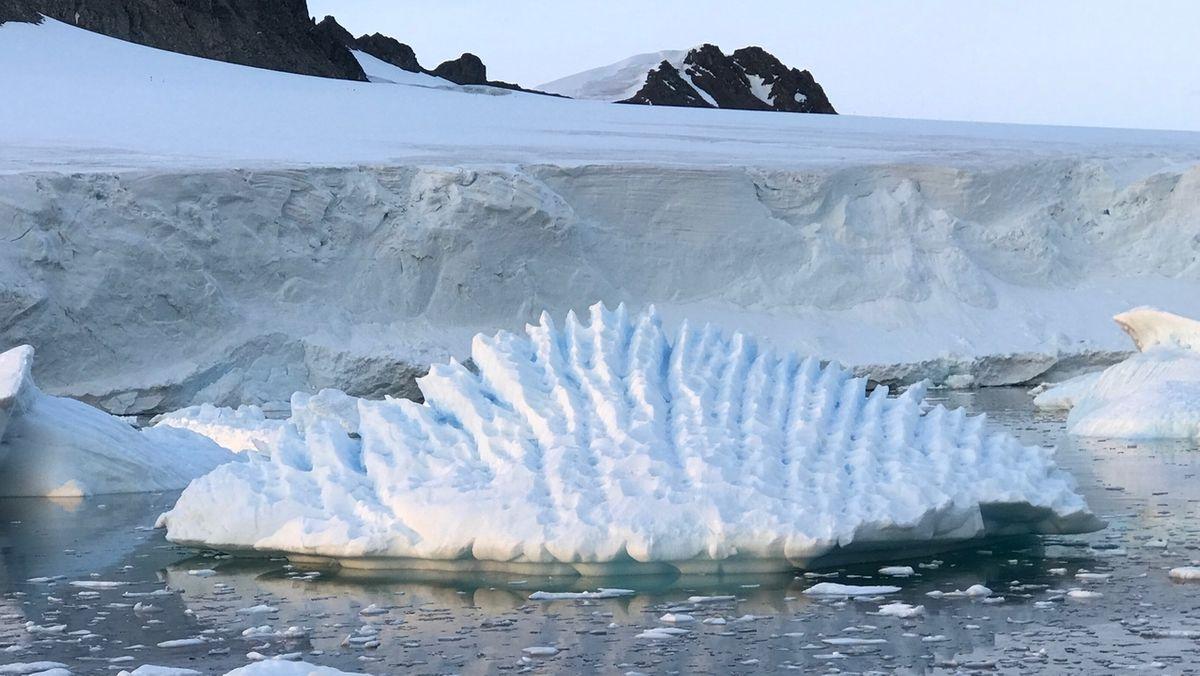 Schmelzendes Eis in der Antarktis