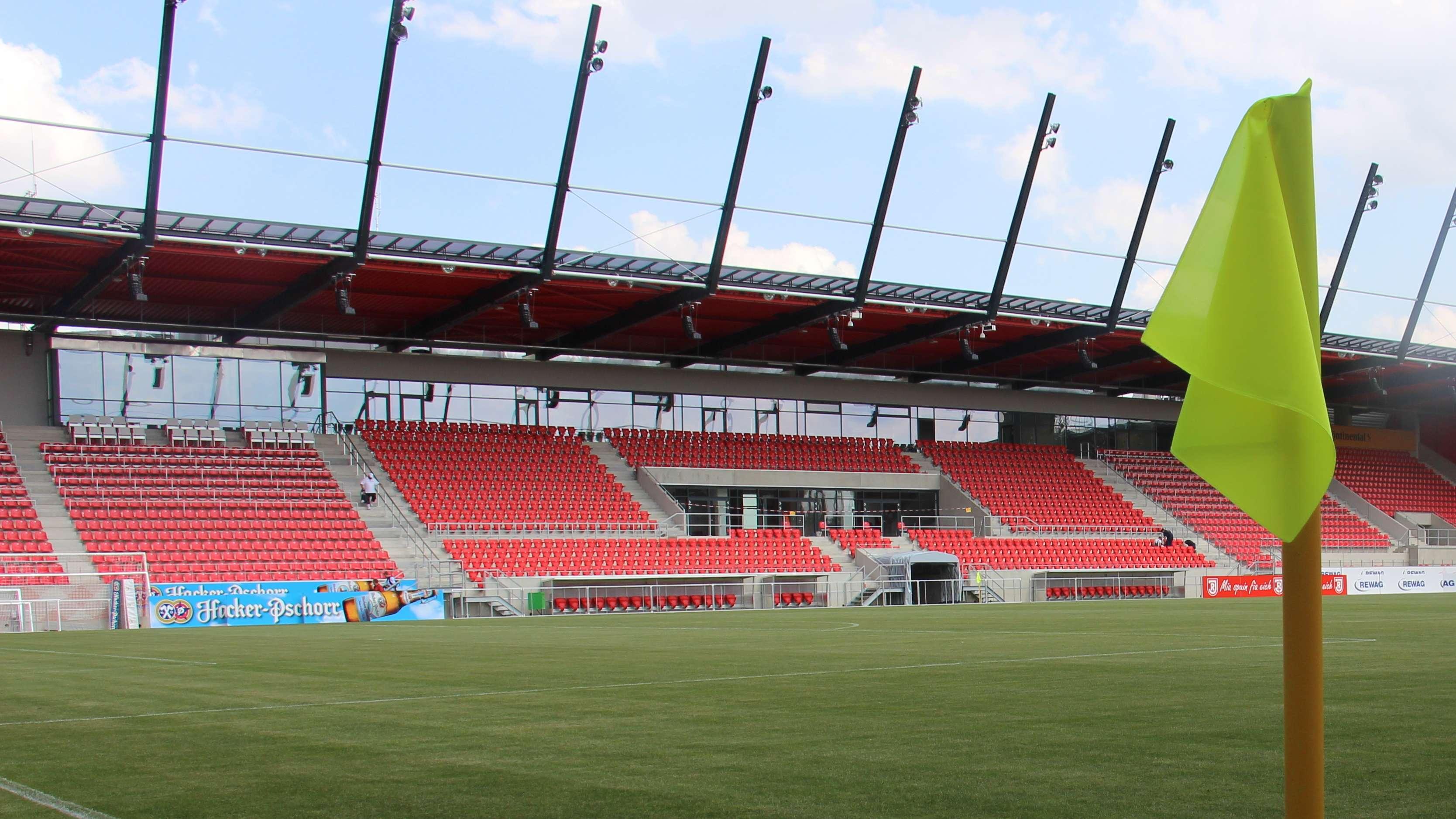 Die Regensburger Fußball-Arena