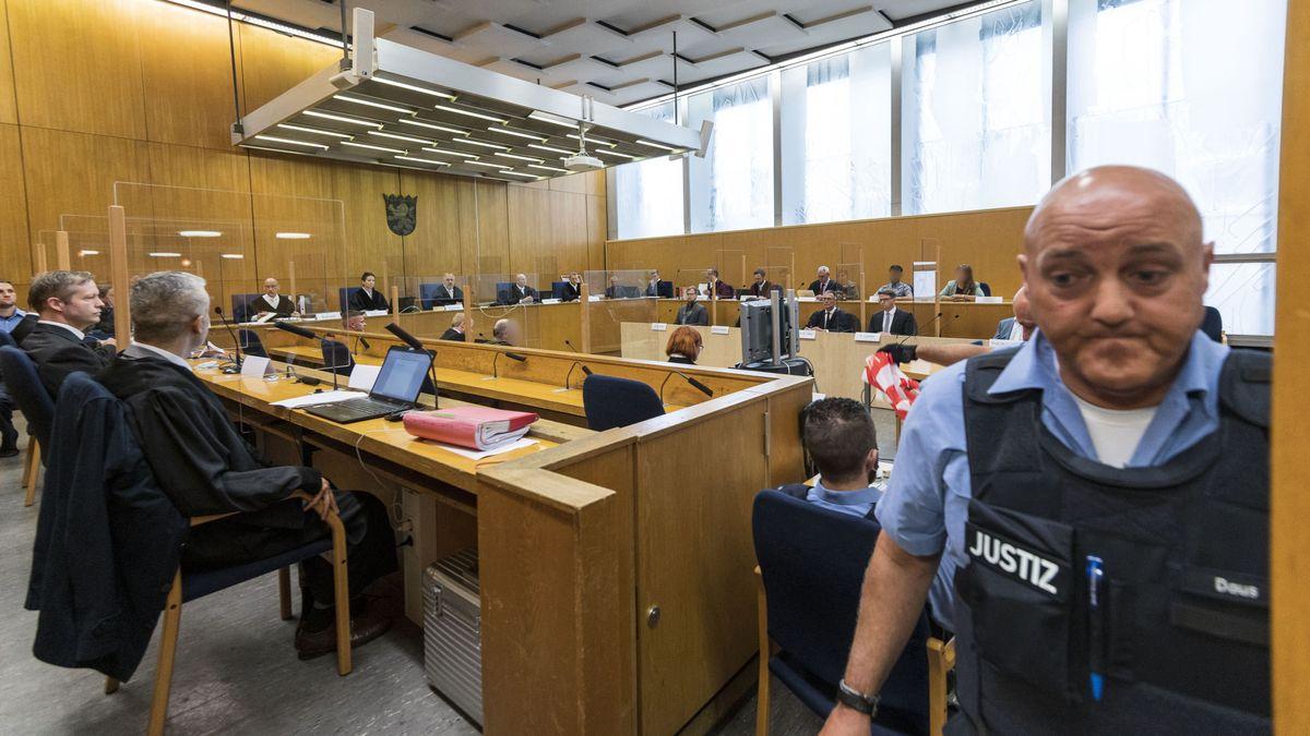 Lübcke-Prozess: Blick in den Gerichtssaal