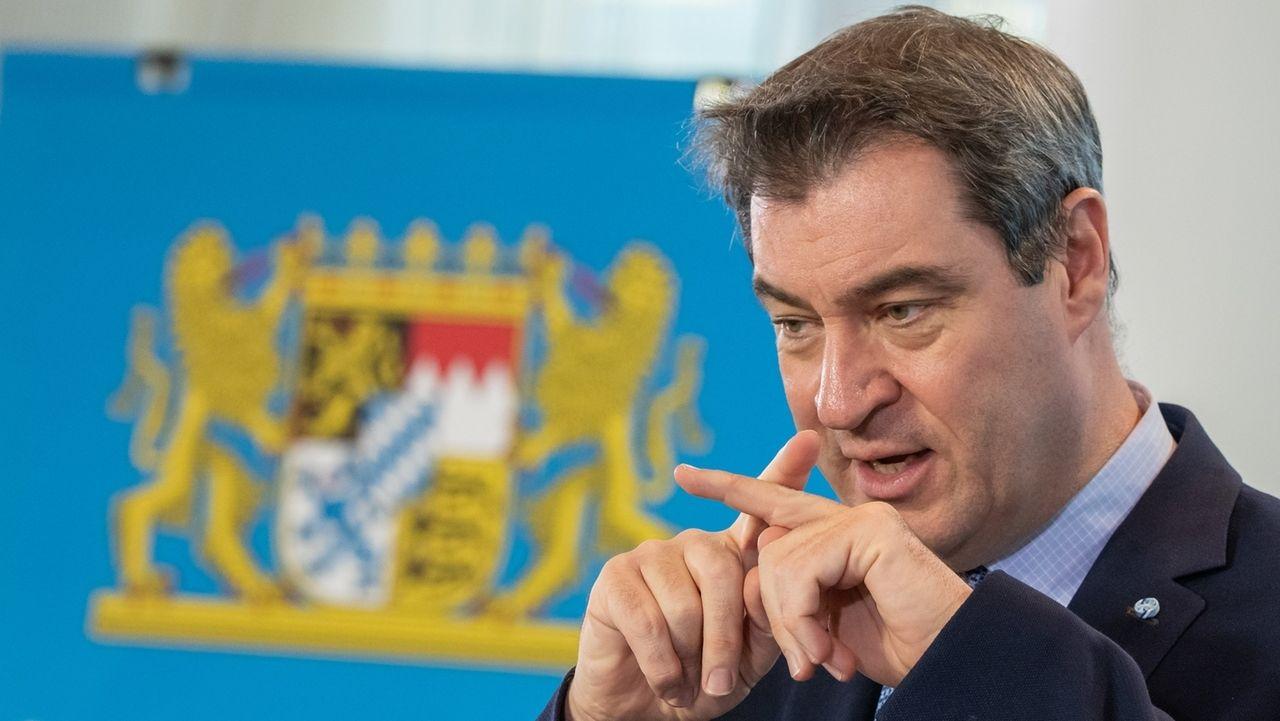 Bayern startet ein neues Forschungsprojekt zur Corona-Epidemie und gründet einen Expertenrat. Das hat Ministerpräsident Söder bekanntgegeben.