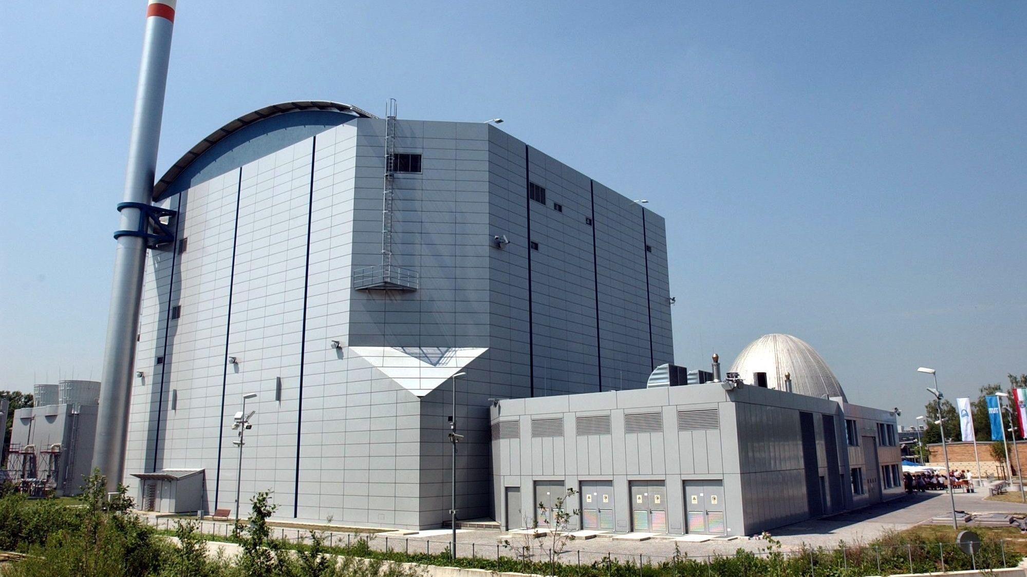 Der Forschungsreaktor FRM-II in Garching bei München