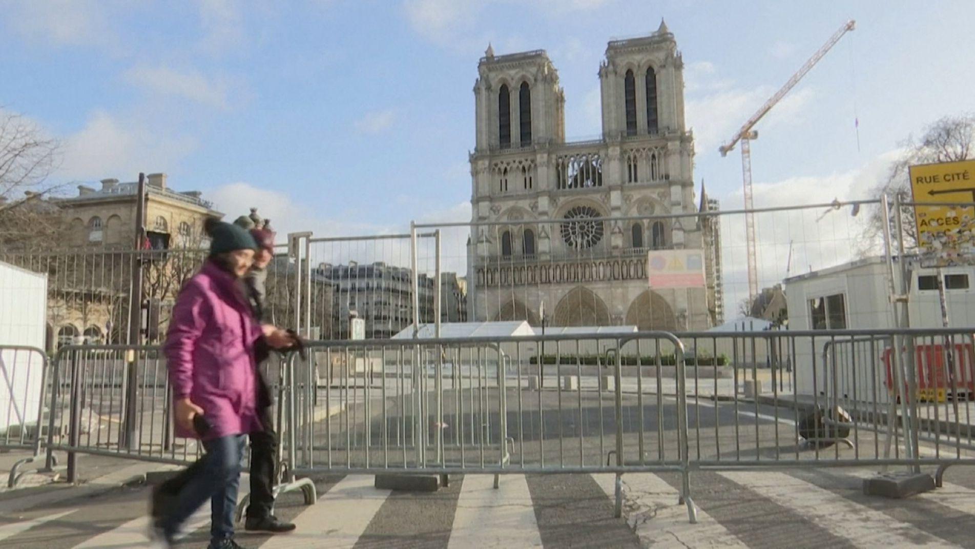 Erstmals seit 216 Jahren keine Weihnachtsmesse in Notre Dame