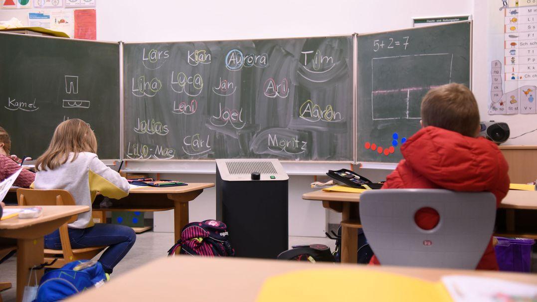 Archiv: Grundschulklasse im Präsenzunterricht