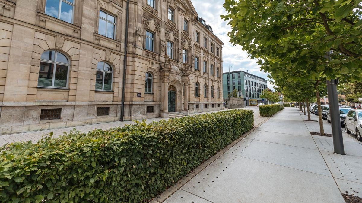 Gebäude der Staatsanwaltschaft Ansbach